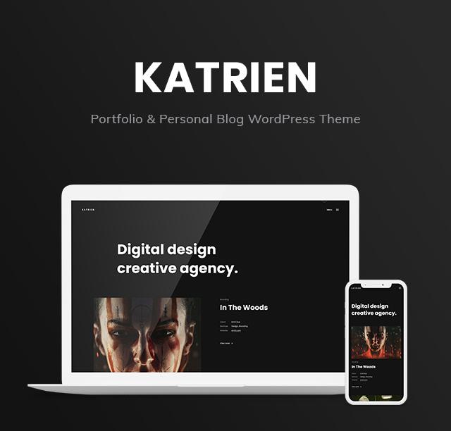 Katrien - Portfolio & Personal Blog WordPress Theme - 4